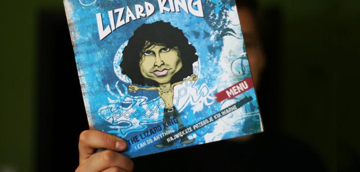 Smakowicie w Lizard King