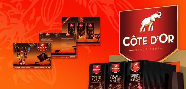 Cote D'or - czekoladowe smaki od Kraft Foods