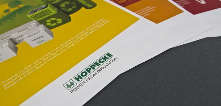 Hoppecke dba o środowisko - materiały promocyjne