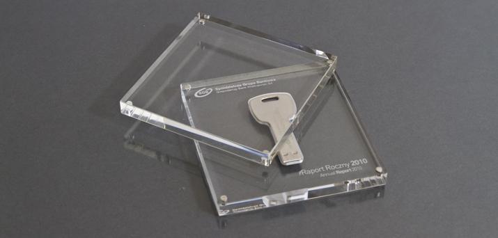 Kryształowe bryły dla SGB